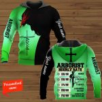 Arborist Hourly Rate personalized ALL OVER PRINTED SHIRTS 11012106