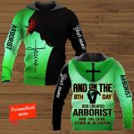 And on The 8th Day God Created Arborist And The Devil Stood at Attention personalized ALL OVER PRINTED SHIRTS 11012105