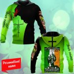 The Devil Whispers You  Withstand The Storm The Irishman Replies I Am The Feckin Storm Patrick's Day Personalized ALL OVER PRINTED SHIRTS