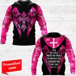 For He Will Order His Angels To Protect You Wherever You Go Personalized ALL OVER PRINTED SHIRTS
