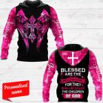 Bless Are The Peagemakers For They Shall Be Called The Children Of God Personalized ALL OVER PRINTED SHIRTS