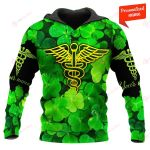 Nurse Patrick's Day Personalized ALL OVER PRINTED SHIRTS