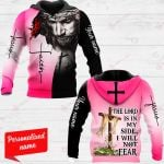 The Lord Is In My Side, I Will Not Fear Personalized ALL OVER PRINTED SHIRTS