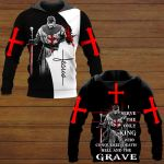 I Server The Only King Who Conquered Death and The Grave ALL OVER PRINTED SHIRTS 15012101