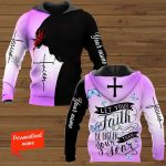 Let Your Faith Be Bigger Than Your Fear Personalized ALL OVER PRINTED SHIRTS