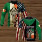 Irish By Blood American By Birth Patriot By Choice Patrick's Day Patrick Patricks day ALL OVER PRINTED SHIRTS