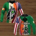 Let Your Faith Be Bigger Than Your Fear Patrick's Day ALL OVER PRINTED SHIRTS