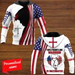 This Frontline Is Vaccinated Nurse Personalized ALL OVER PRINTED SHIRTS