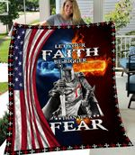 Let Your Faith Be Bigger Than Your Fear 6:10-18  ALL OVER PRINTED Blanket
