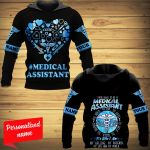 I Was Born To Be A Medical Assistant To Hold To Aid To Save To Help To Teach To Inspire It's Who I Am My Calling My Passion My Life And My World Nurse Personalized ALL OVER PRINTED SHIRTS
