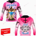 Lord Keep Your Arm Around My Shoulder And Your Hand Over My Mouth Nurse Personalized ALL OVER PRINTED SHIRTS