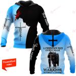 A Christian Man Without Prayer Is Like A Warrior Without A Sword Personalized ALL OVER PRINTED SHIRTS