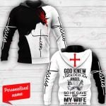 God Knew I Needed An Angel So He Gave Me My Wife Personalized ALL OVER PRINTED SHIRTS