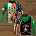 American Grown Irish Roots Patrick's Day ALL OVER PRINTED SHIRTS