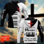 God Gave Us Music That We Might Pray Without Words Personalized ALL OVER PRINTED SHIRTS