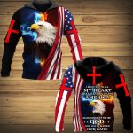 I Believe With All My Heart That Sranding Up For America Means Standing Up For The God Who Has So Blessed Our Land ALL OVER PRINTED SHIRTS