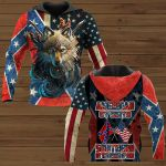 American By Birth Southern By Grace Of God ALL OVER PRINTED SHIRTS