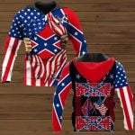Southern Pride Heritage Not Hate ALL OVER PRINTED SHIRTS