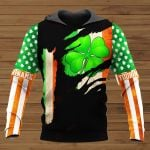 Shamrock Patrick's Day Personalized ALL OVER PRINTED SHIRTS