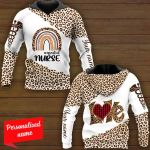 #essential Nurse Love Personalized ALL OVER PRINTED SHIRTS