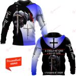 A Child Of God A Man Of Faith A Warrior Of Christ Personalized ALL OVER PRINTED SHIRTS
