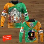 Sons Of Ireland American Chapter Patrick' Day Personalized ALL OVER PRINTED SHIRTS