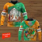 My Nation My Heritage Patrick' Day Personalized ALL OVER PRINTED SHIRTS