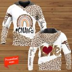 Love Nurse #CNAlife Certified Nursing Assistant Personalized ALL OVER PRINTED SHIRTS
