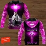Jesus Because Of Him Heaven Knows My Name Personalized ALL OVER PRINTED SHIRTS