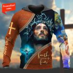 Faith Over Fear Personalized ALL OVER PRINTED SHIRTS