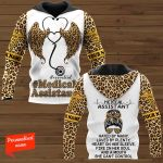 Medical Assistant Hate By Many Loved By Plenty, Heart On Her Sleeve, Fire In Her Soul And A Mouth She Can't Control Nurse Personalized ALL OVER PRINTED SHIRTS
