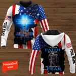 Let your Faith be Bigger than your Fear Knight Personalized ALL OVER PRINTED SHIRTS