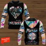 #essential Nurse I Was Born To Be A Nurse To Hold To Aid To Save To Help To Teach To Inspire It's Who I Am My Calling My Passion My Life And My World Personalized ALL OVER PRINTED SHIRTS