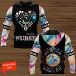 #essential Nurse Are Sunshine mixed with a little Hurricane Personalized ALL OVER PRINTED SHIRTS