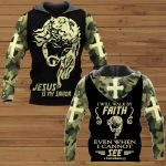 I Will Walk By Faith even I cannot See ALL OVER PRINTED SHIRTS
