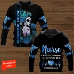Nurse Called Accrording To Her Purpose #Essential Nurse Nursing Personalized  ALL OVER PRINTED SHIRTS