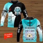 Nursing is a Not a Career It's a Post Apocalyptic Survival Skill Registered Nurse RN  Personalized ALL OVER PRINTED SHIRTS