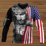 Be Still and Know That I Am God Flag ALL OVER PRINTED SHIRTS
