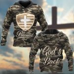 Blessed God's Got My Back ALL OVER PRINTED SHIRTS