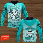 Masked & Vaccinated I Am Not A Princess I Don't Need Saving I Am An Nurse I Got This Handled Nurse Personalized ALL OVER PRINTED SHIRTS