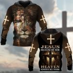 Jesus Because Of Him Heaven Know My Name ALL OVER PRINTED SHIRTS