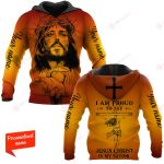 I Am Proud To Say Jesus Christ Is My Savior Personalized ALL OVER PRINTED SHIRTS