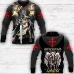 The Devil Saw Me With My Head Down And Thought He'd Won Until Said Amen ALL OVER PRINTED SHIRTS
