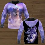 It's Not Over When You Lose It's Over When You Quit Wolf ALL OVER PRINTED SHIRTS