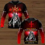 The Jesus Inside Me Is Stronger Than The Darkness That Threatens To Overtake Me ALL OVER PRINTED SHIRTS