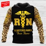 Registered Nurse Personalized ALL OVER PRINTED SHIRTS