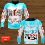 Nurse Call The Short Nurse Personalized ALL OVER PRINTED SHIRTS
