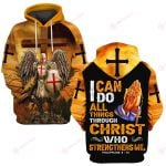 I Can Do All Things Through Christ Who Strengthens Me ALL OVER PRINTED SHIRTS