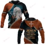 Jesus The Way The Truth And The Life ALL OVER PRINTED SHIRTS