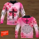 For God So Loved The World, That He Gave His Only Begotten Son That Whosoever Believeth In Him Should Not Perish But Have Everlasting Life Personalized ALL OVER PRINTED SHIRTS